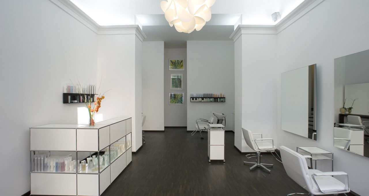 Beautiful Meuble De Reception Salon De Coiffure